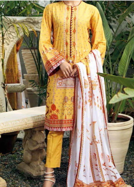 Gul Ahmed CL1028B Basic Lawn