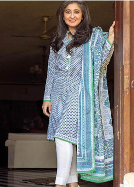 Gul Ahmed CL-1067 B Mothers Lawn